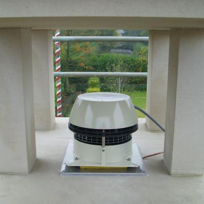 Chimney Fan Installation