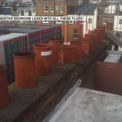 CCTV Chimney Investigation Survey